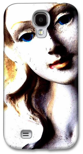 Statue Portrait Galaxy S4 Cases - The Face of a Woman Galaxy S4 Case by Faith Williams