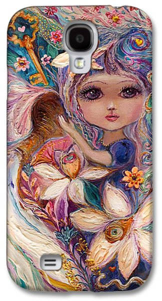Good Luck Galaxy S4 Cases - The Fairies of Zodiac series - Aquarius Galaxy S4 Case by Elena Kotliarker