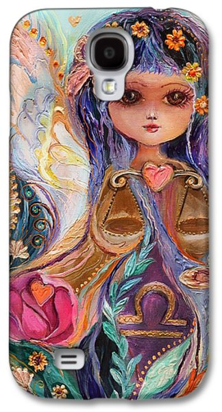 Good Luck Galaxy S4 Cases - The Fairies of Zodiac series - Libra Galaxy S4 Case by Elena Kotliarker