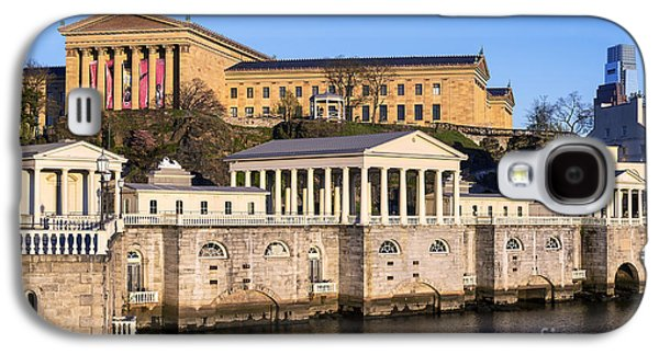 Phillies Art Galaxy S4 Cases - The Fairmount Water Works and Art Museum Galaxy S4 Case by John Greim