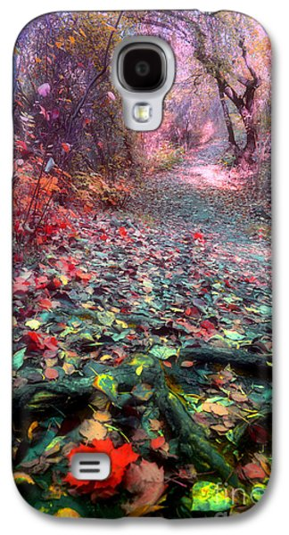 Tree Roots Galaxy S4 Cases - The Fallen Leaves Galaxy S4 Case by Tara Turner