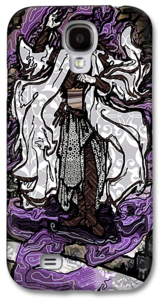 Purple Robe Galaxy S4 Cases - The Farseer Galaxy S4 Case by A Ka
