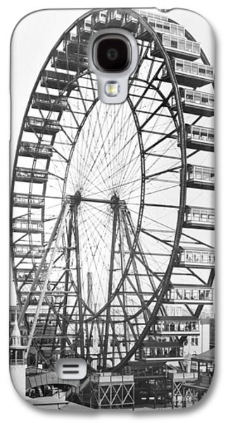 The Ferris Wheel At The Worlds Columbian Exposition Of 1893 In Chicago Bw Photo Galaxy S4 Case by American Photographer
