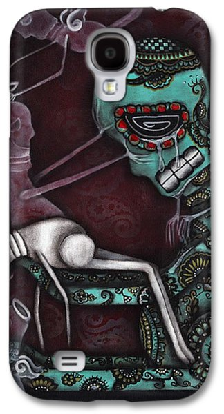 Gothic Paintings Galaxy S4 Cases - The Final Awakening  Galaxy S4 Case by  Abril Andrade Griffith