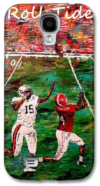 Pallet Knife Galaxy S4 Cases - The Final Yard Roll Tide  Galaxy S4 Case by Mark Moore