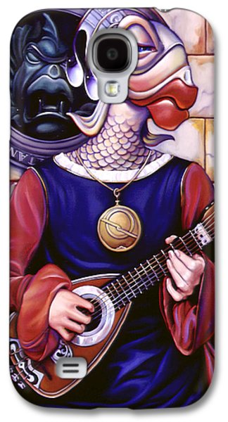 Lute Paintings Galaxy S4 Cases - The Finstrel Galaxy S4 Case by Patrick Anthony Pierson