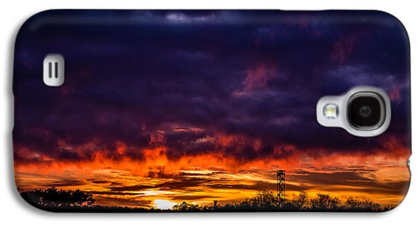 Poster Art Galaxy S4 Cases - The fire tower Galaxy S4 Case by Jb Atelier