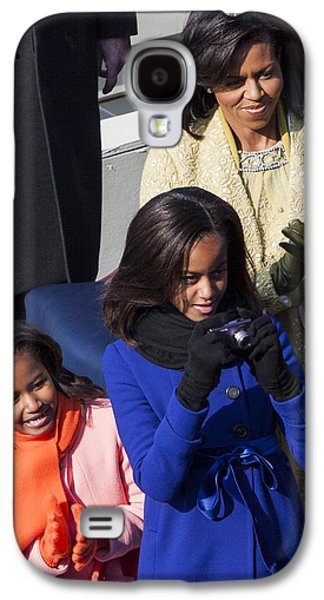 Michelle Obama Photographs Galaxy S4 Cases - The First Family Galaxy S4 Case by JP Tripp