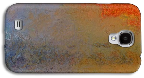 Comfort Paintings Galaxy S4 Cases - The Fisherman Galaxy S4 Case by Dan Sproul