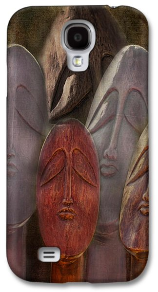 Statue Portrait Galaxy S4 Cases - The Following Galaxy S4 Case by Terry Fleckney
