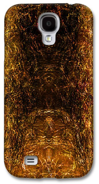 Abstract Forms Galaxy S4 Cases - The Forbidden Door Galaxy S4 Case by James Barnes