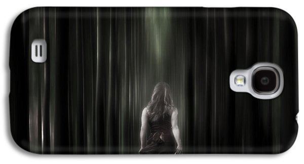Woman Photographs Galaxy S4 Cases - The Forest Galaxy S4 Case by Joana Kruse
