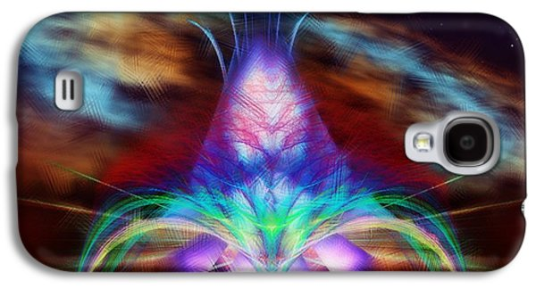 Painter Photo Mixed Media Galaxy S4 Cases - The Fountain of Life Galaxy S4 Case by Mario Carini