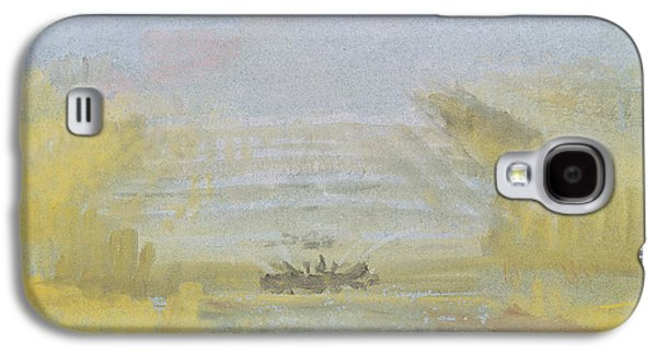 Abstract Fountain Galaxy S4 Cases - The Fountains at Versailles Galaxy S4 Case by Joseph Mallord William Turner