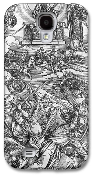 Edition Galaxy S4 Cases - The Four Vengeful Angels Galaxy S4 Case by Albrecht Durer or Duerer