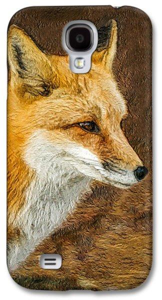 Fox Digital Galaxy S4 Cases - The Fox 5 Galaxy S4 Case by Ernie Echols