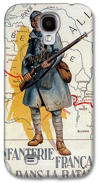 Bayonet Galaxy S4 Cases - The French Infantry in the Battle Galaxy S4 Case by H Delaspre