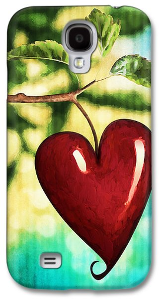 Fruit Tree Art Galaxy S4 Cases - The Fruit of the Spirit Galaxy S4 Case by April Moen