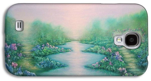Dreamscape Galaxy S4 Cases - The Garden of Peace Galaxy S4 Case by Hannibal Mane