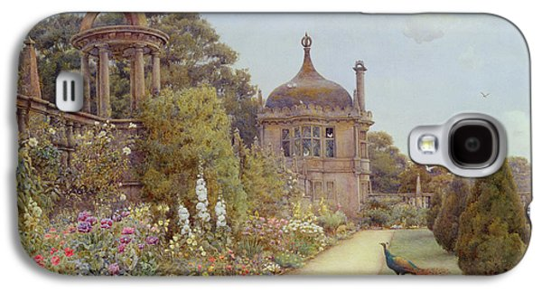 The Gardens At Montacute In Somerset Galaxy S4 Case by Ernest Arthur Rowe