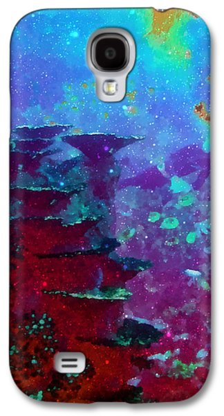 Photo Manipulation Galaxy S4 Cases - The Glimmering Deep Galaxy S4 Case by Wendy J St Christopher
