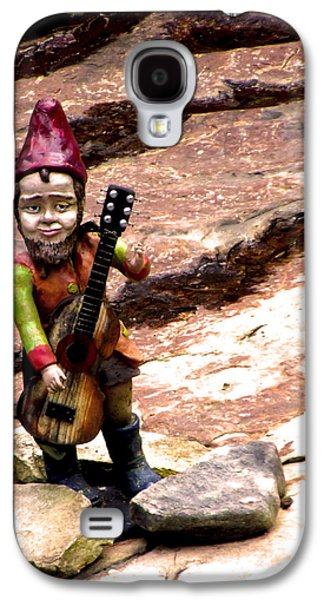 Ukelele Galaxy S4 Cases - The Gnome Song Galaxy S4 Case by Russell Clenney