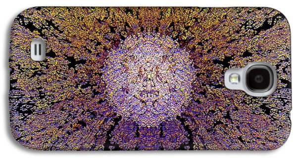 Abstract Movement Galaxy S4 Cases - The God Particle Galaxy S4 Case by Michael Durst