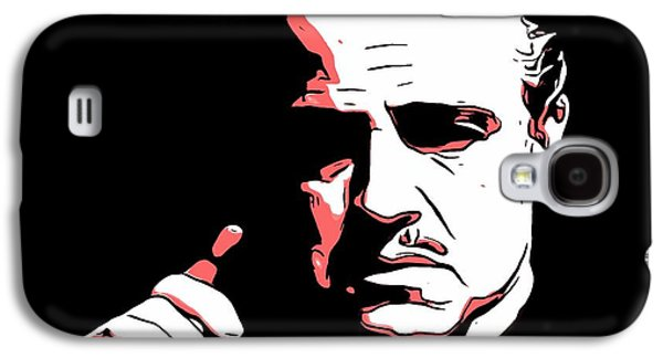 The Godfather Galaxy S4 Cases - The Godfather Galaxy S4 Case by Dan Sproul