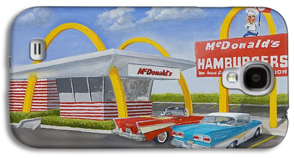 Joints Galaxy S4 Cases - The Golden Age of the Golden Arches Galaxy S4 Case by Jerry McElroy