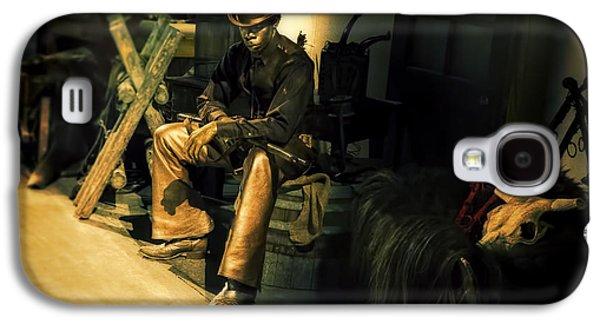 The Golden Cowboy Galaxy S4 Case by Diane Dugas