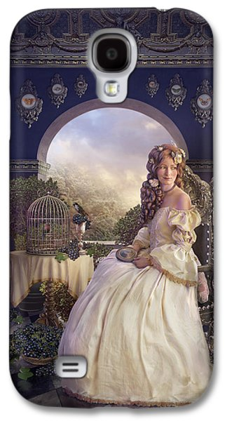 Phantasie Digital Art Galaxy S4 Cases - The Golden Room Galaxy S4 Case by Cassiopeia Art