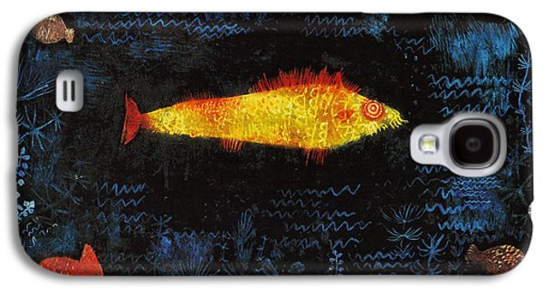 The Goldfish Galaxy S4 Case by Paul Klee