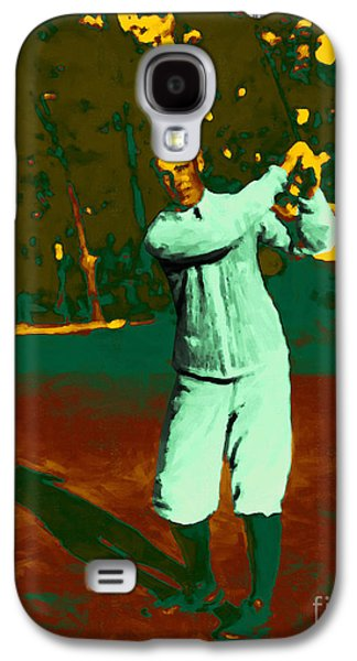 Nike Galaxy S4 Cases - The Golfer - 20130208 Galaxy S4 Case by Wingsdomain Art and Photography