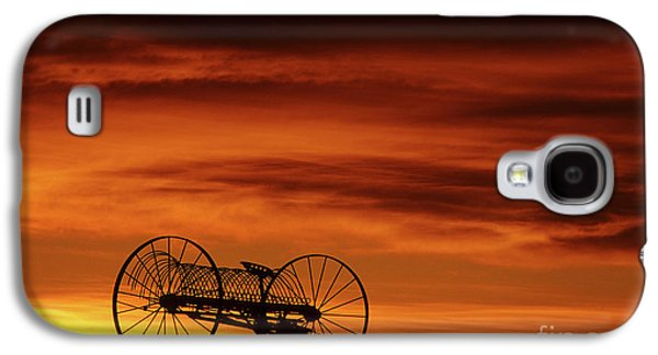 Old Western Photos Galaxy S4 Cases - The Good Old Days Galaxy S4 Case by Bob Christopher