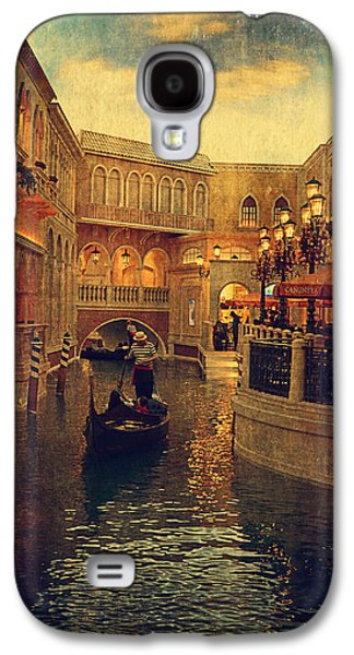 The Grand Canal Shoppes Galaxy S4 Case by Maria Angelica Maira