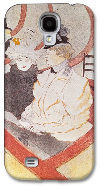 Balcony Galaxy S4 Cases - The Grande Loge, 1897 Litho See Also 15811 Galaxy S4 Case by Henri de Toulouse-Lautrec