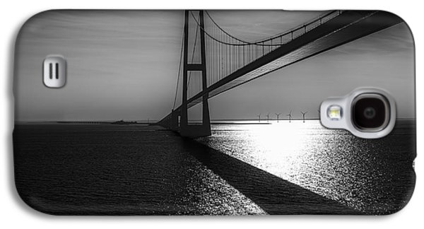 Long Street Galaxy S4 Cases - The Great Belt Bridge Galaxy S4 Case by Erik Brede