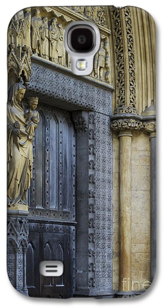 The Great Door Westminster Abbey London Galaxy S4 Case by Tim Gainey
