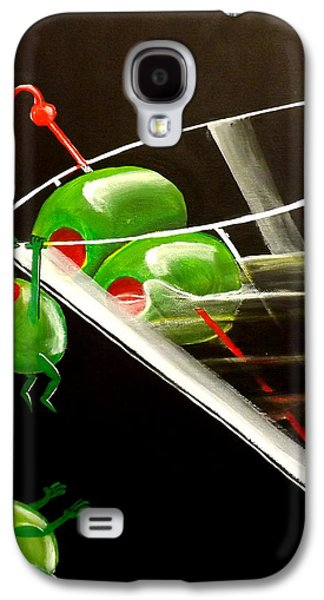 Fantasy Realistic Still Life Paintings Galaxy S4 Cases - The Great Escape Galaxy S4 Case by Darren Robinson