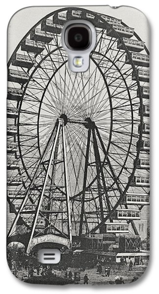 The Great Ferris Wheel In The World Columbian Exposition, 1st July 1893 Galaxy S4 Case by American School