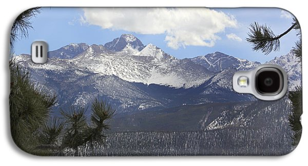 Snow Capped Galaxy S4 Cases - The Rocky Mountains - Colorado Galaxy S4 Case by Mike McGlothlen