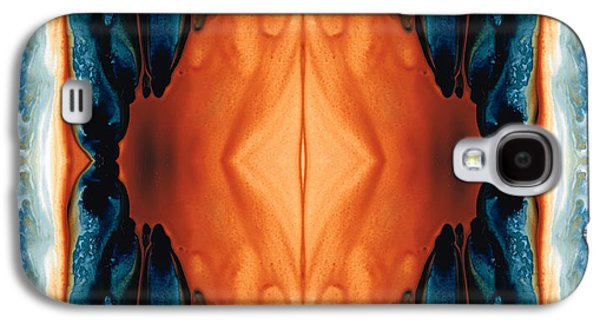 Affirmation Galaxy S4 Cases - The Great Spirit - Abstract Art By Sharon Cummings Galaxy S4 Case by Sharon Cummings