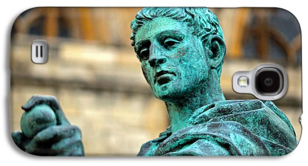 Statue Portrait Galaxy S4 Cases - The Great Statue Galaxy S4 Case by Chris Whittle