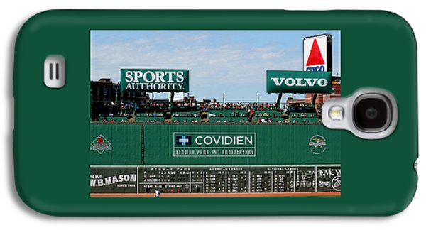 Red Sox Art Galaxy S4 Cases - The green monster 99 Galaxy S4 Case by Tom Prendergast