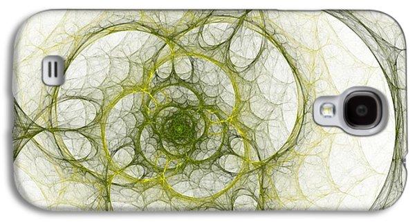 The Green Sphere Galaxy S4 Case by Stefan Kuhn