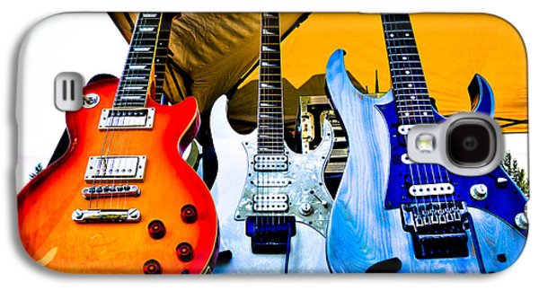 The Kingpins Galaxy S4 Cases - The guitars of Jimmy Dence - The Kingpins Galaxy S4 Case by David Patterson