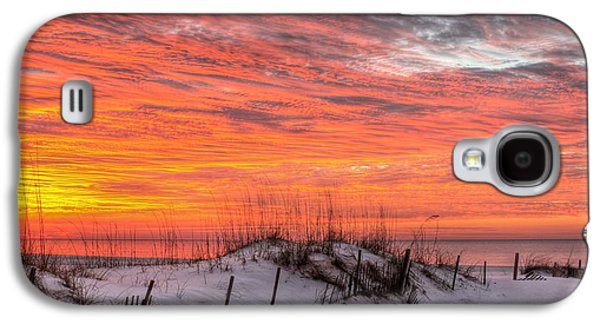 Florida Panhandle Galaxy S4 Cases - The Gulf Shores of Alabama Galaxy S4 Case by JC Findley