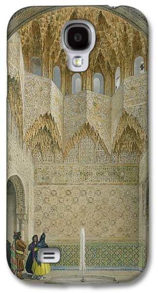 Orientalists Galaxy S4 Cases - The Hall Of The Abencerrages Galaxy S4 Case by Leon Auguste Asselineau
