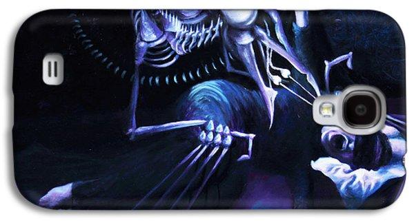 The Hallucinator Galaxy S4 Case by Shelley  Irish
