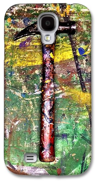 Hammer Paintings Galaxy S4 Cases - The Hammer Galaxy S4 Case by Bill Marsoun